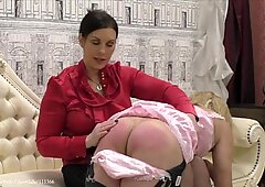Spanking Sissy Andrea