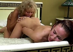 daughter smashes mature lesbian not her mother
