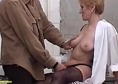 Hairy moms first big cock
