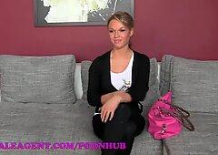 FemaleAgent HD fabulous ash-blonde nympho