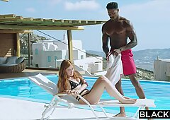 BLACKED BBC Craving Red Head Gets Dominated On Vacation