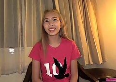 Hot Little Asian Girl Bangs and Blows Sex Tourist