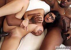 Brunette anal hotel first time My Big Black Threesome - Mia Khalifa
