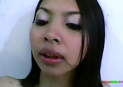 First time unprotected sex with Thai girl