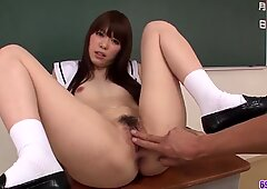 Moe Sakura amazes with her top cock - More at 69avs.com