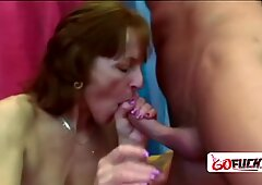 Horny granny Ivet is down and ready to get banged hard and deep