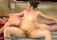 Asian massage babe