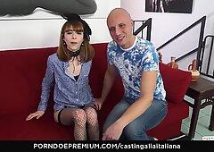 CASTING ALLA ITALIANA - #Yukikon - European Skinny Babe Smashed Hard In First Porn Audition