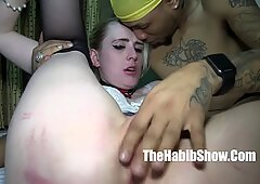 white girl getting dickrammed by dominican cock macana man