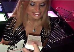 Dora Venter eating some cock