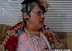 granny bangs young Dick
