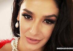 hefty butt Latina Sheena Ryder drilled by Brad Newman Big Cock