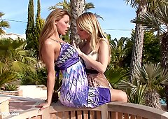 Big Tit Lesbians Klaudia And Beatrice From Sapphic Erotica Go Down On Each Other - Blue Angel