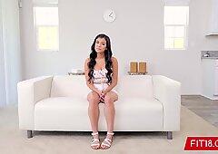 FIT18 - Savannah Sixx - 52kg - Casting Big Breasted Latina