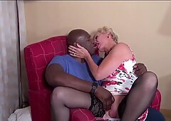 Queen Spade meets up with Blqcl Bull. Mature Interracial